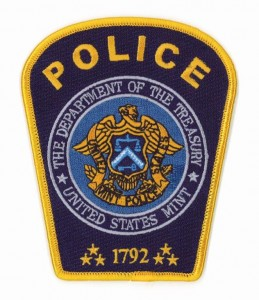 United States Mint Police Badge