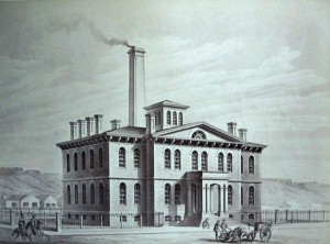 U.S. Mint at Carson City. (National Archives)