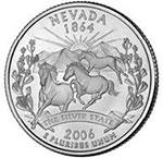 Nevada State Quarter reverse