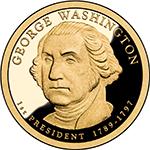 George Washington Presidential $1 Coin