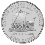 2004 Westward Journey Nickel Series Keelboat Uncirculated Reverse