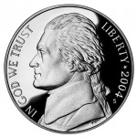 2004 Westward Journey Nickel Series Proof Obverse