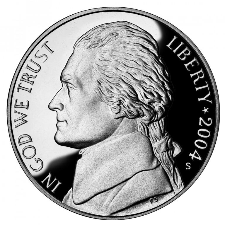 2004 Westward Journey Nickel Series Proof Obverse