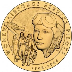 2009 Women Airforce Service Pilots Bronze Medal Obverse