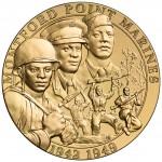 2011 Montford Point Marines Bronze Medal Obverse