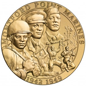 2011 Montford Point Marines Bronze Medal Obverse