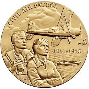 2014 Civil Air Patrol Bronze Medal Obverse