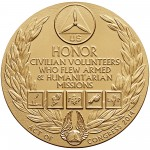 2014 Civil Air Patrol Bronze Medal Reverse