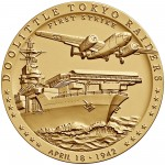 2014 Doolittle Toyko Raiders Bronze Medal Three Inch Obverse