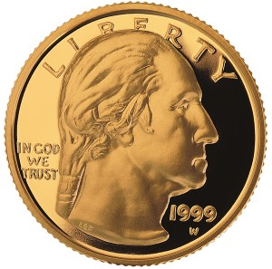 1999 George Washington coin