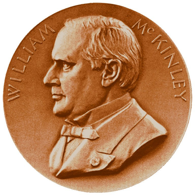 William Mckinley Presidential Bronze Medal Obverse