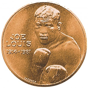 1981 Joe Louis Bronze Medal Obverse