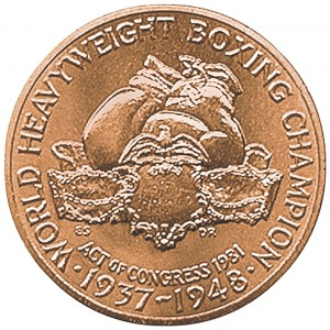 1981 Joe Louis Bronze Medal Reverse