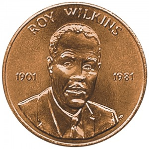 1984 Roy Wilkins Bronze Medal Obverse