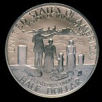 1986 Statue Of Liberty Commemorative Clad Half Dollar Proof Reverse