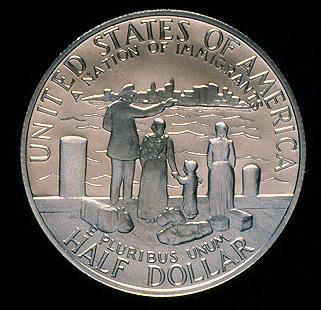 1986 Statue Of Liberty Commemorative Clad Half Dollar Proof Reverse