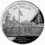 1994 United States Prisoner Of War Commemorative Silver One Dollar Proof Reverse