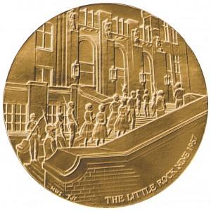 1998 Little Rock Nine Bronze Medal Obverse
