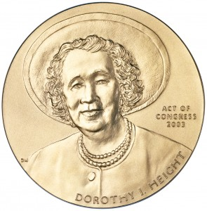 2003 Dorothy Height Bronze Medal Obverse