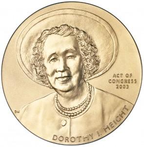 2003 Dorothy Height Bronze Medal Obverse