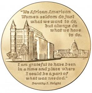 2003 Dorothy Height Bronze Medal Reverse