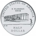 2003 First Flight Centennial Commemorative Clad Half Dollar Uncirculated Reverse