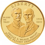 2003 First Flight Centennial Commemorative Gold Ten Dollar Uncirculated Obverse