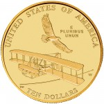 2003 First Flight Centennial Commemorative Gold Ten Dollar Uncirculated Reverse