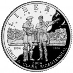 2004 Lewis And Clark Bicentennial Commemorative Silver One Dollar Proof Obverse