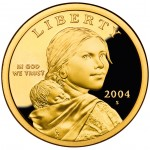 2004 Native American One Dollar Proof Obverse