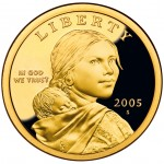 2005 Native American One Dollar Proof Obverse