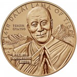 2006 Dalai Lama Bronze Medal One And One Half Inch Obverse