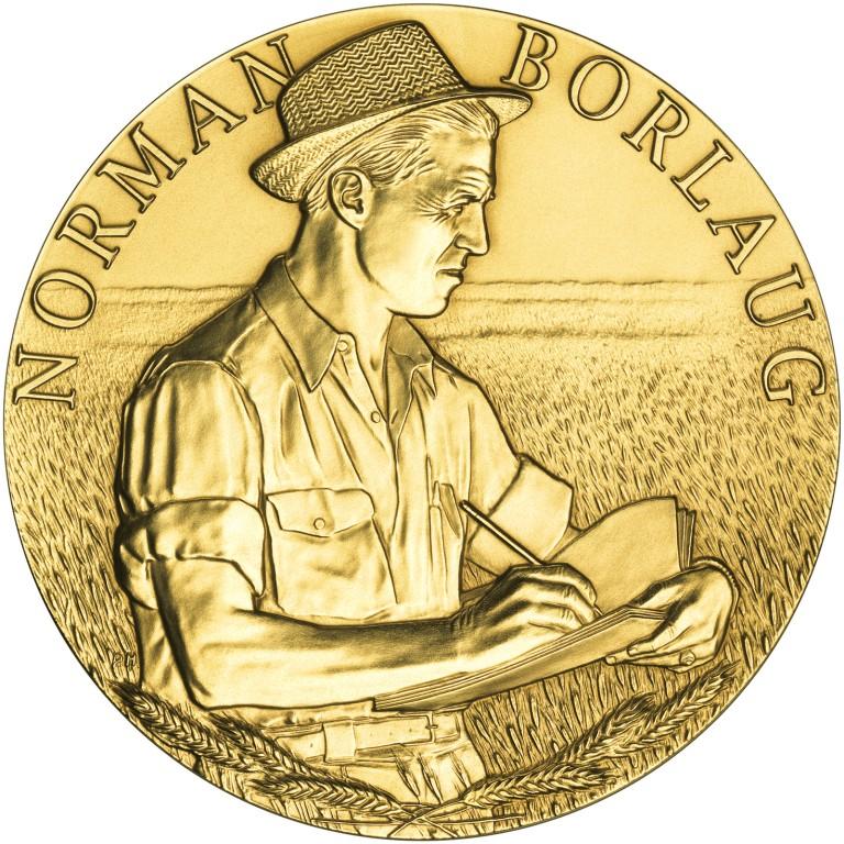 2006 Norman Borlaug Bronze Medal Obverse