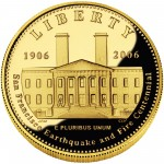 2006 San Francisco Mint Centennial Commemorative Gold Five Dollar Proof Obverse