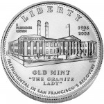 2006 San Francisco Mint Centennial Commemorative Silver One Dollar Uncirculated Obverse