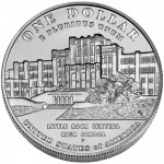 2007 Little Rock Central High School Commemorative Silver One Dollar Uncirculated Reverse