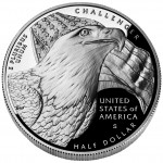 2008 Bald Eagle Commemorative Clad Half Dollar Proof Reverse