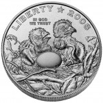 2008 Bald Eagle Commemorative Clad Half Dollar Uncirculated Obverse
