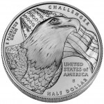 2008 Bald Eagle Commemorative Clad Half Dollar Uncirculated Reverse
