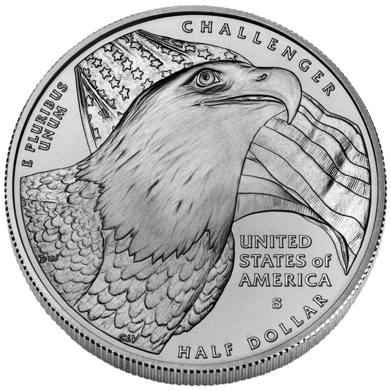 2008 Bald Eagle Commemorative Clad Half Dollar Uncirculated Reverse