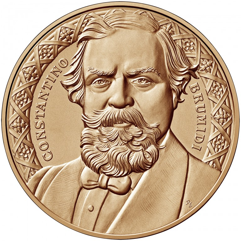 2008 Constantino Brumidi Bronze One And One Half Inch Medal Obverse