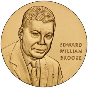 2008 Senator Edward Brooke Bronze Medal Obverse