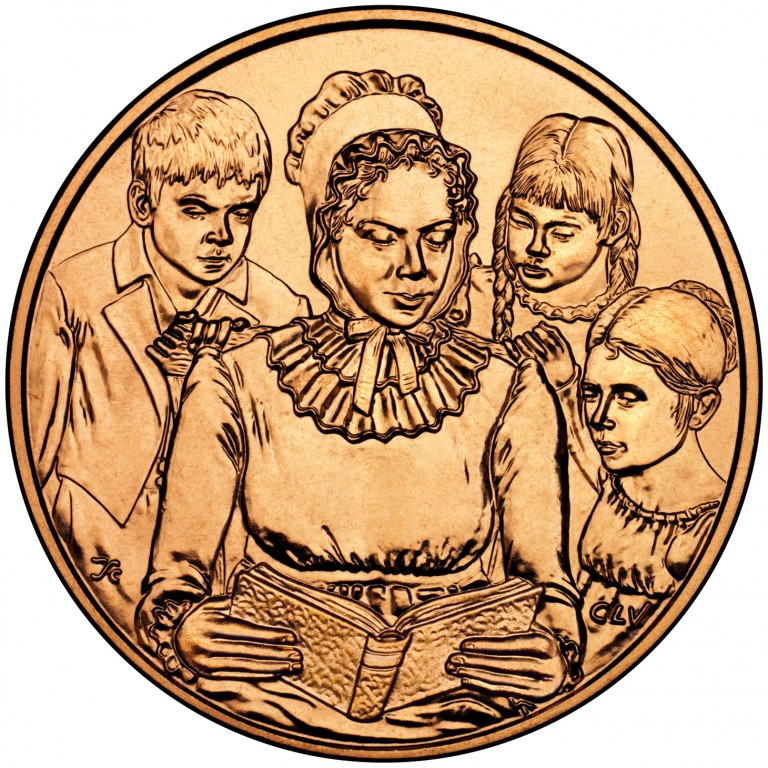 Anna Harrison First Spouse Bronze Medal Reverse
