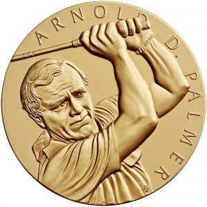2011 Arnold Palmer Bronze Medal Three Inch Obverse