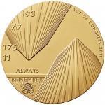 2011 Fallen Heroes Of 911 New York Bronze Medal Obverse