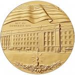 2011 Fallen Heroes Of 911 Pentagon Bronze Medal Obverse