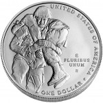 2011 Medal Of Honor Commemorative Silver One Dollar Uncirculated Reverse