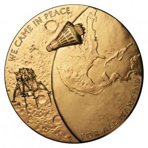 2011 New Frontiers Bronze Medal Reverse