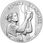 2011 September 11 Silver Medal Philadelphia Obverse