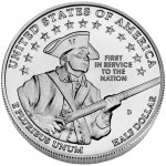 2011 United States Army Commemorative Clad Half Dollar Uncirculated Reverse